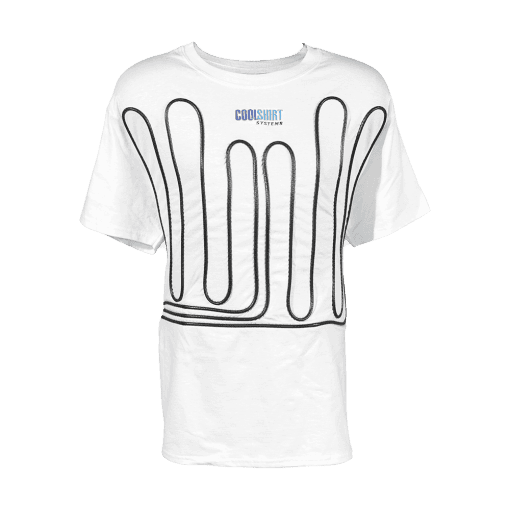 White Cool Water Shirt | COOLSHIRT SYSTEMS