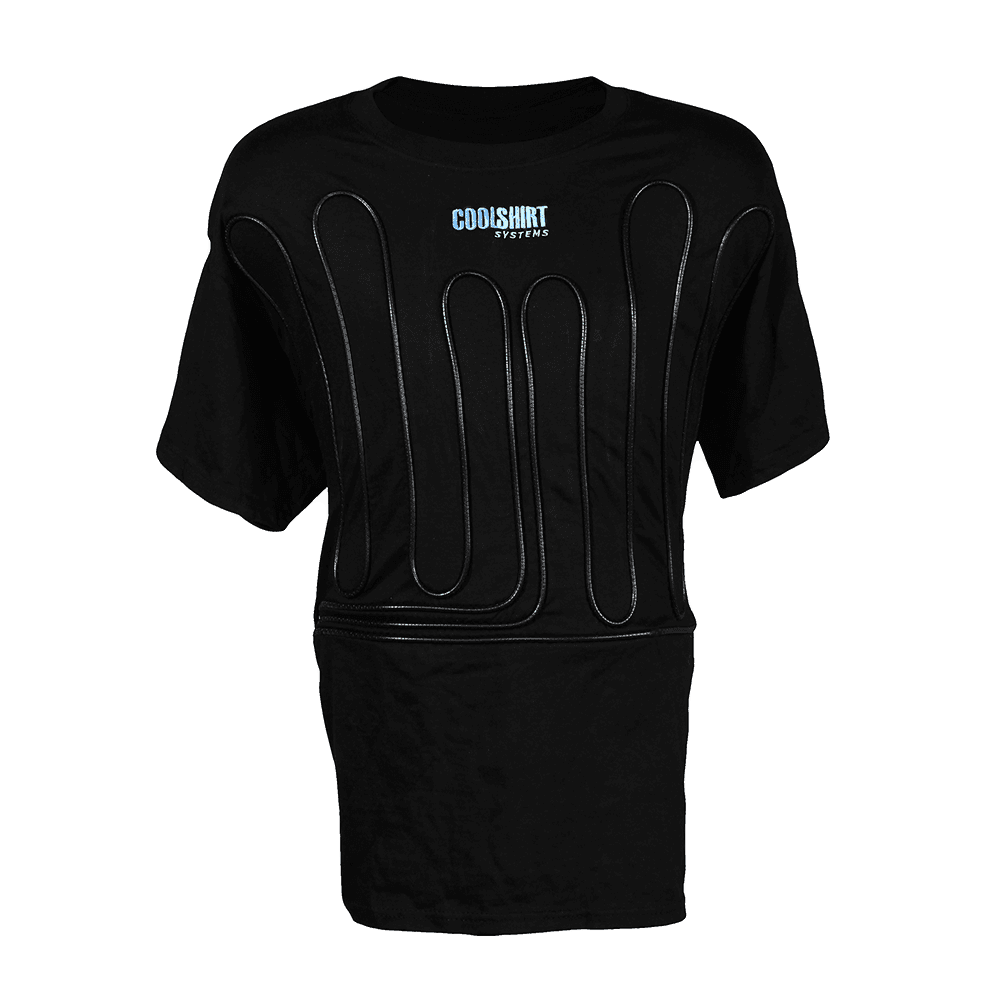 Black Cool Water Shirt | COOLSHIRT SYSTEMS